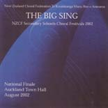 The Big Sing Finale 2002 - CD