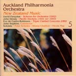 Auckland Philharmonia Orchestra: New Zealand Music 5