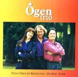 Ogen Trio: Piano Trios by Beethoven, Dvorak and Farr - CD