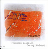 Waiteata Collection of New Zealand Music Vol. 5 - Composer Portrait: Jenny McLeod - CD