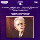 Alfred Hill: Symphonies Nos. 4 and 6 - CD