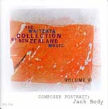 Waiteata Collection of New Zealand Music Vol. 6 - Composer Portrait: Jack Body