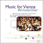Music for Vienna: Bel Canto Choir - CD