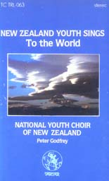 New Zealand Youth Sings to the World - CASSETTE