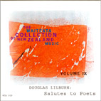 Waiteata Collection of New Zealand Music Vol. 9 - Douglas Lilburn: Salutes to Poets - CD