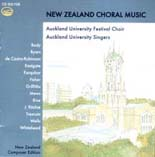 New Zealand Choral Music — CD