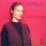 Clare Maclean: Complete Choral Music - CD