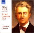 Alfred Hill: String Quartets Vol. 1 - CD
