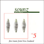 SOUNZfine Volume 5: New Zealand Women Composers - CD