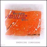 Waiteata Collection of New Zealand Music Vol. 7: Emerging Composers - CD