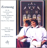 Choir of St. Paul's Cathedral Dunedin: Evensong - CD