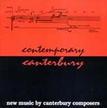 Contemporary Canterbury - CD