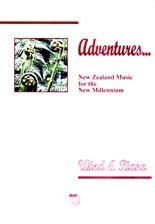 Adventures - NZ music for the new millennium (wind and piano) - hardcopy SCORE
