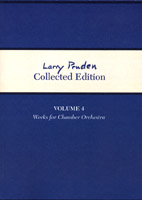 Larry Pruden Collected Edition Volume 4 - Works for Chamber Orchestra