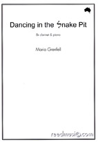 Maria Grenfell: Dancing in the Snake Pit - hardcopy SCORE and PART